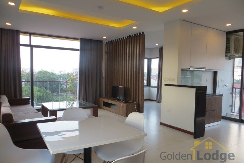 Furnished 01 bedroom apartment rental in Dang Thai Mai Hanoi 1
