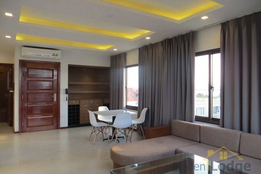 Furnished 01 bedroom apartment rental in Dang Thai Mai Hanoi 4