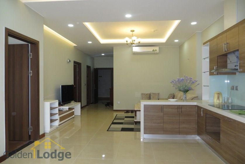 3 bedroom apartment for rent in Trang An Complex Cau Giay 5