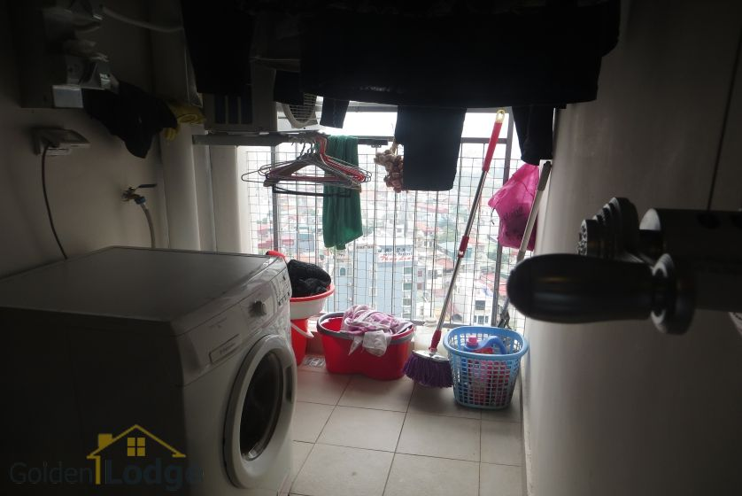 Apartment in Mipec Riverside for rent with 2 bedrooms, river view 10