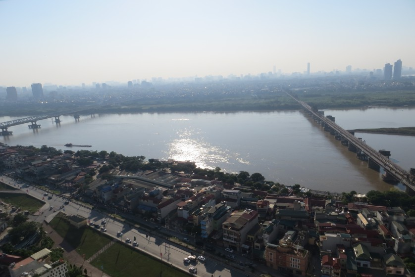 Brand new 3 bedroom apartment in Mipec Riverside Red river view
