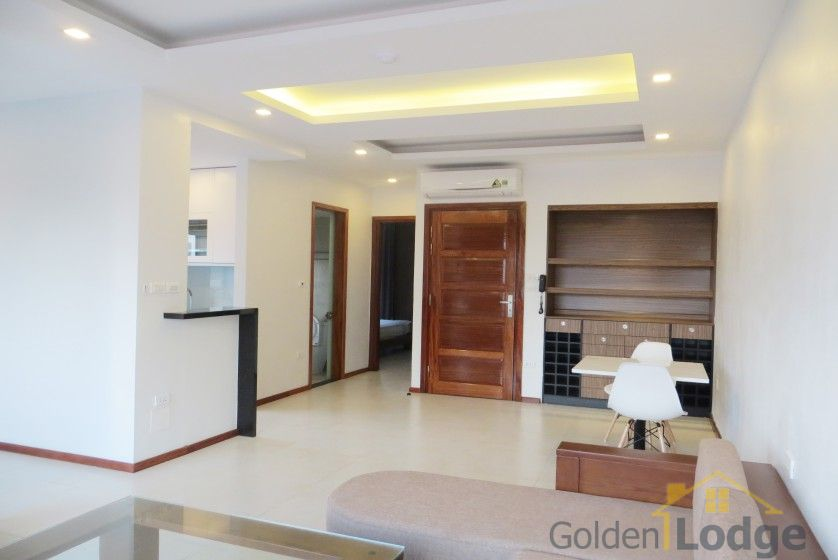 Bright reception room 1 bedroom apartment in Tay Ho furnished 2