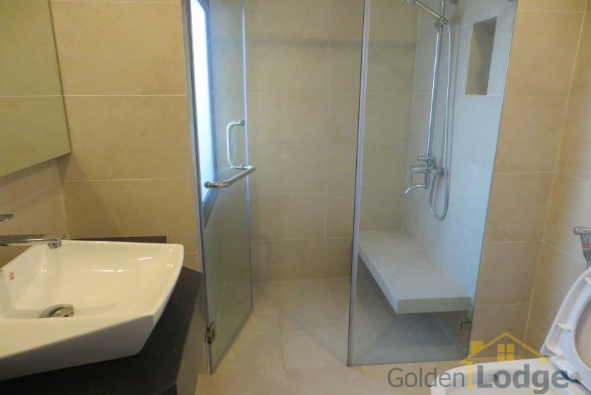 Bright reception room 1 bedroom apartment in Tay Ho furnished 6