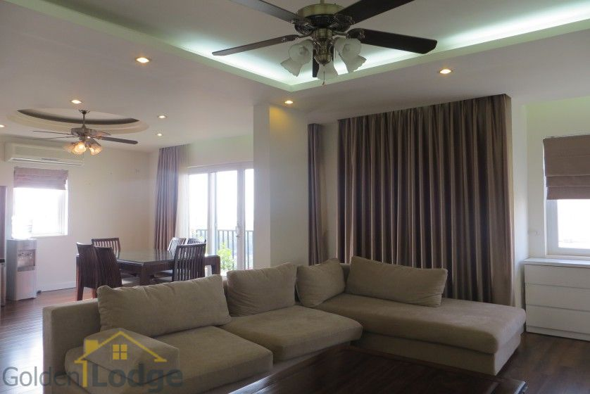 Four bedroom duplex apartment to lease in Tay Ho Hanoi 2