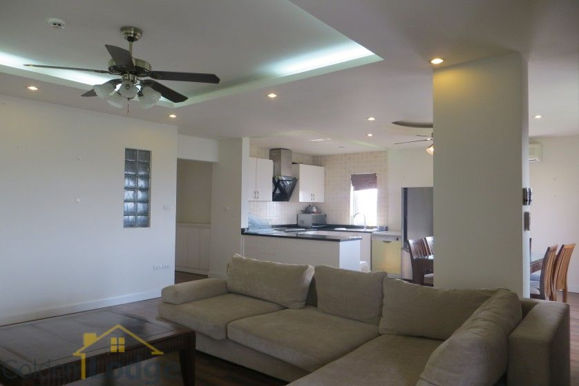 Four bedroom duplex apartment to lease in Tay Ho Hanoi 3