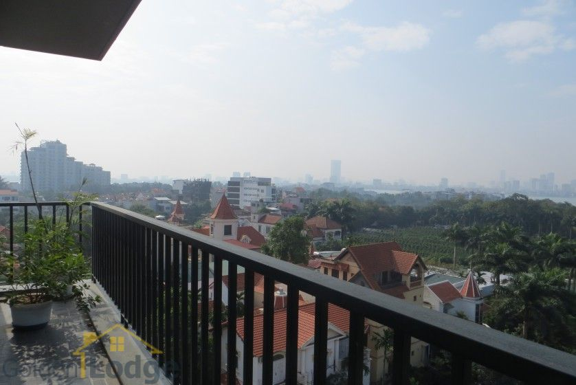Four bedroom duplex apartment to lease in Tay Ho Hanoi 6