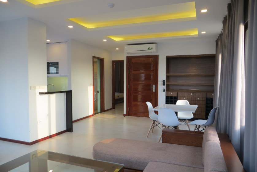 Furnished 01 bedroom apartment rental in Dang Thai Mai Hanoi