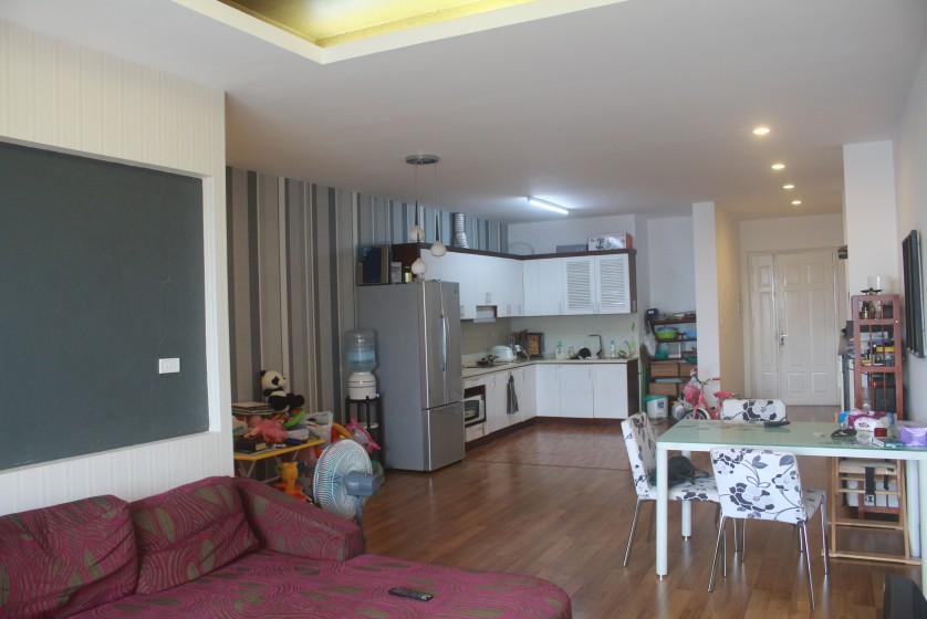 Furnished 3 bedroom apartment for rent at 249A Thuy Khue street Tay Ho