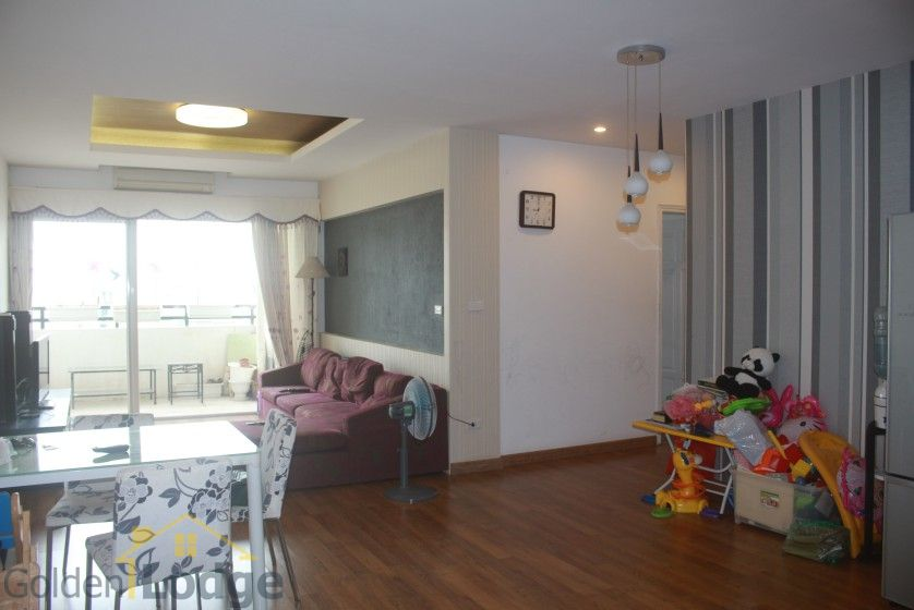 Furnished 3 bedroom apartment for rent at 249A Thuy Khue street Tay Ho 1