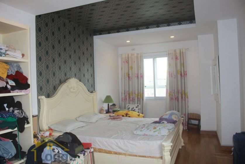 Furnished 3 bedroom apartment for rent at 249A Thuy Khue street Tay Ho 13