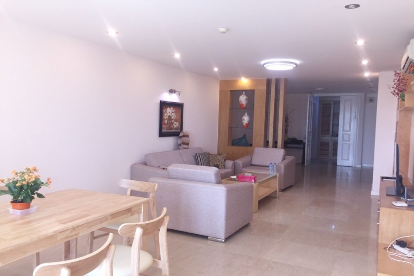 Furnished 3 bedroom apartment in Ciputra Hanoi, P1 tower to rent