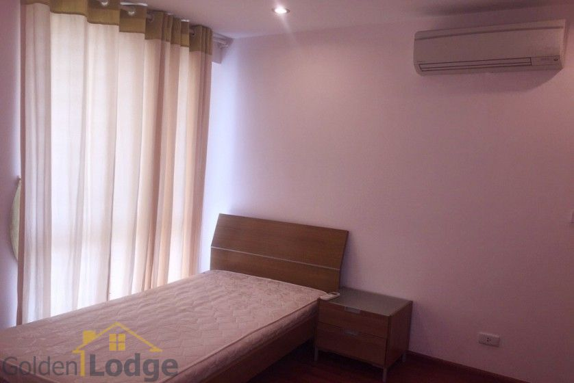 Furnished 3 bedroom apartment in Ciputra Hanoi, P1 tower to rent 12