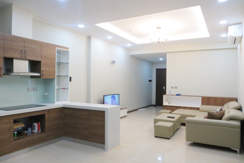 Furnished apartment in Trang An Complex for rent, 2 bedrooms