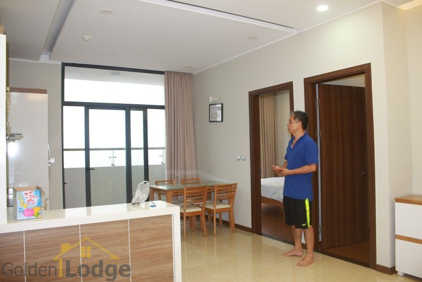 Furnished apartment to rent in Trang An Complex 95m2 balcony 1