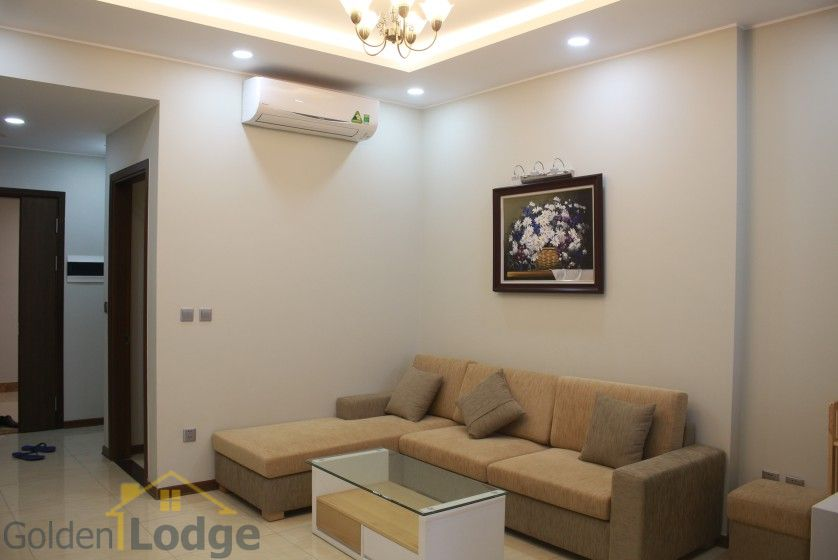 Furnished apartment to rent in Trang An Complex 95m2 balcony 3
