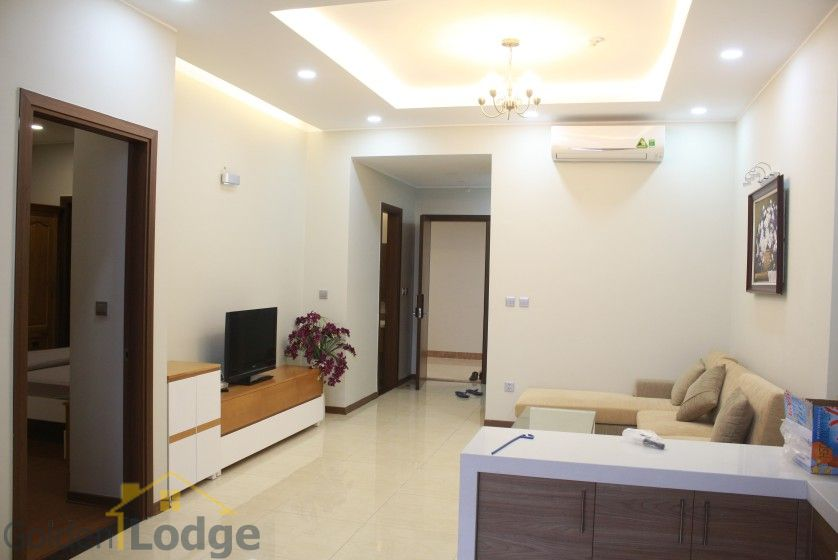 Furnished apartment to rent in Trang An Complex 95m2 balcony 5