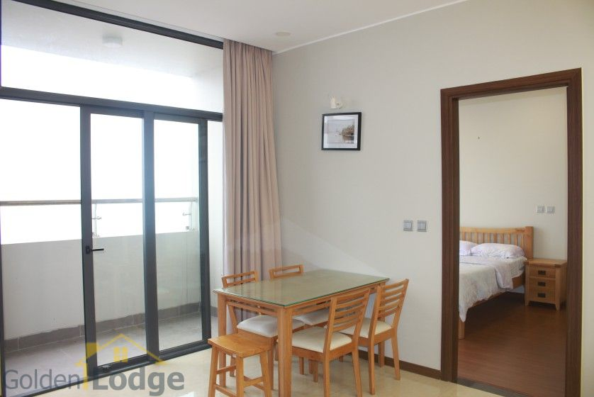 Furnished apartment to rent in Trang An Complex 95m2 balcony 9