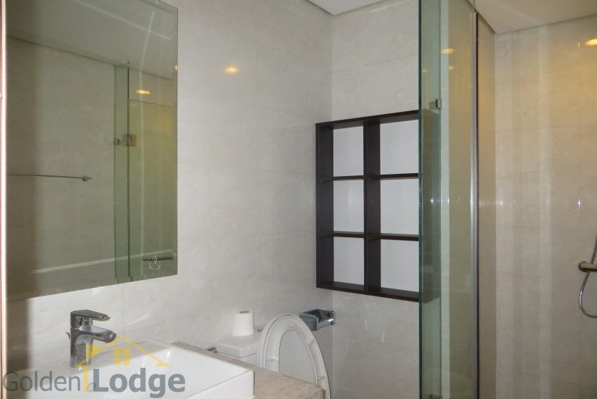 Furnished Mipec Long Bien apartment rental comes with 02 bedrooms 11