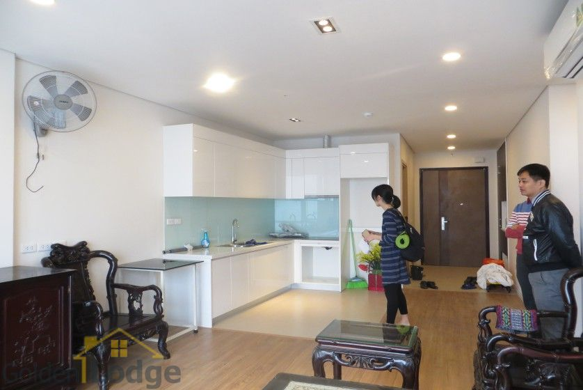 Furnished Mipec Long Bien apartment rental comes with 02 bedrooms 5