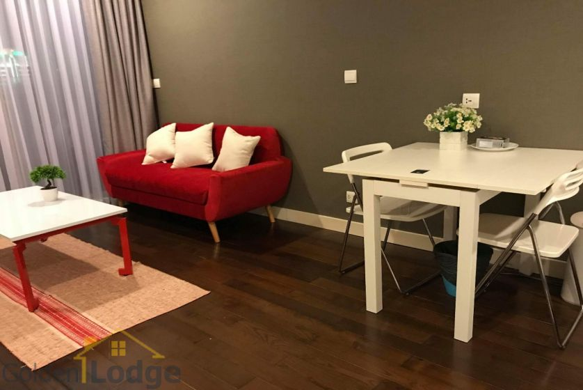 Furnished studio apartment in Lancaster Hanoi for rent 3