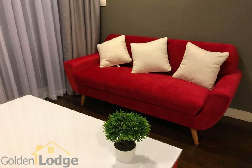 Furnished studio apartment in Lancaster Hanoi for rent 4