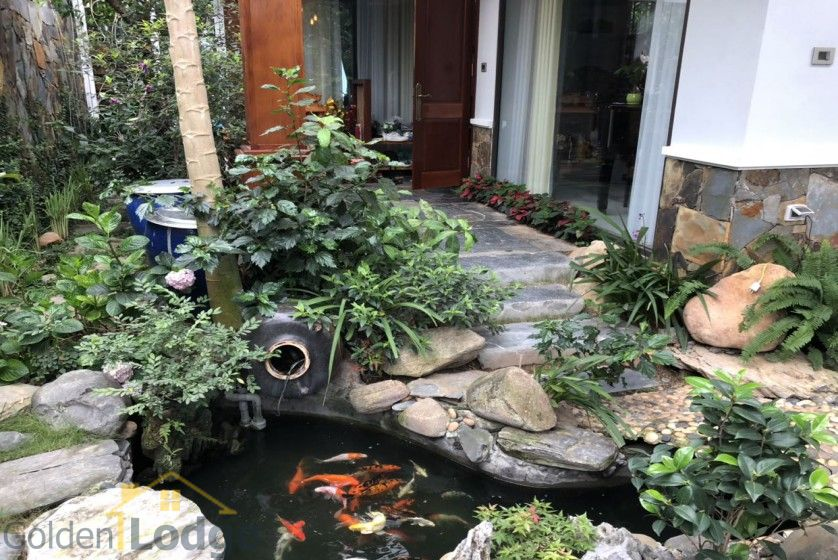 Furnished and swimming pool Tay Ho villa for rent 4 bedrooms 3