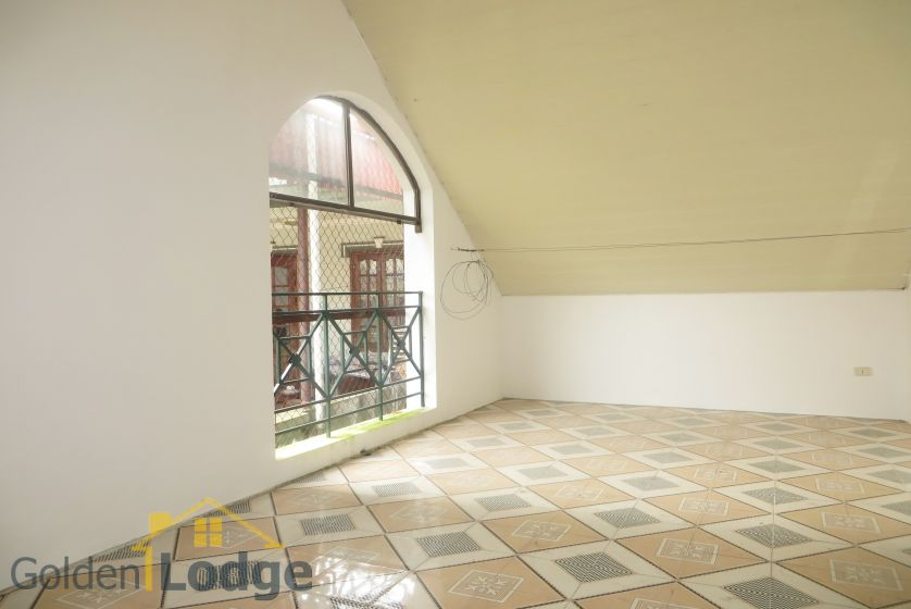 House in Tay Ho rental with 4 bedrooms, partly furnished 20