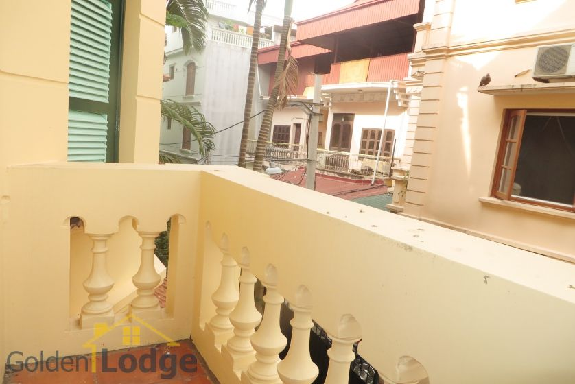 House in Tay Ho rental with 4 bedrooms, partly furnished 9