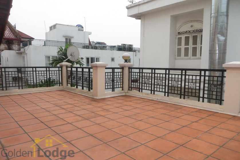 House in Xuan Dieu Tay Ho, Hanoi to lease with swimming pool 30