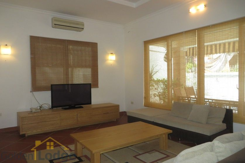 House in Xuan Dieu Tay Ho, Hanoi to lease with swimming pool 5