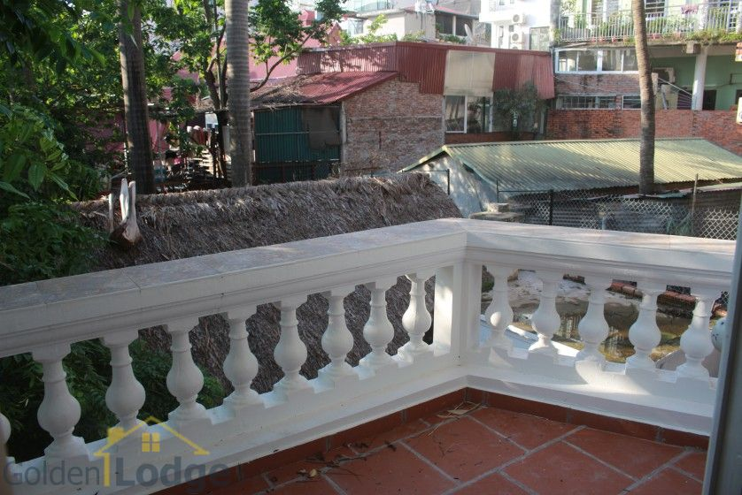 Large garden Tay Ho house for rent Hanoi with 5 bedrooms 15