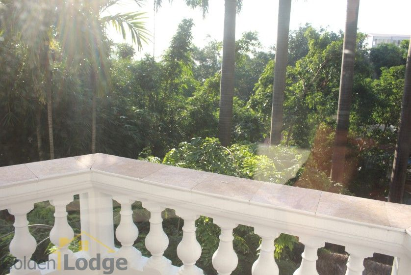 Large garden Tay Ho house for rent Hanoi with 5 bedrooms 21
