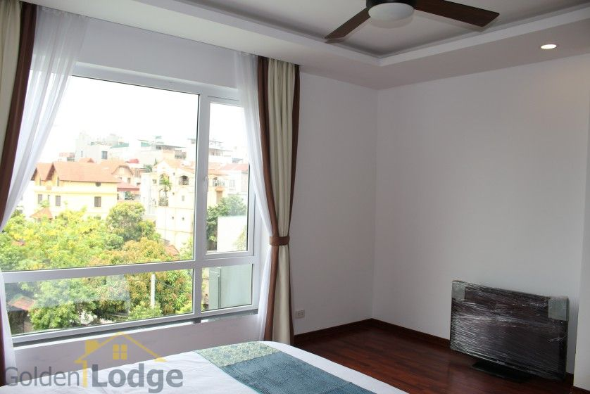 New furnished 04 bedroom apartment in To Ngoc Van Tay Ho 22