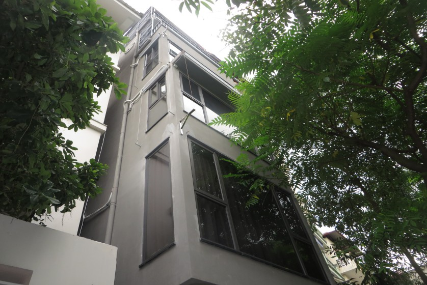 Partly Tay Ho house for rent with lake view, Sheraton hotel nearby