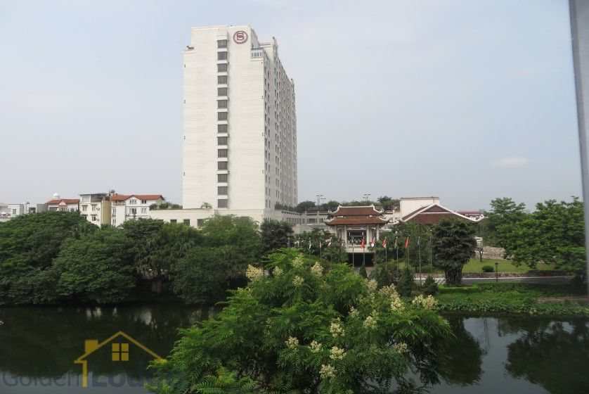 Partly Tay Ho house for rent with lake view, Sheraton hotel nearby 12