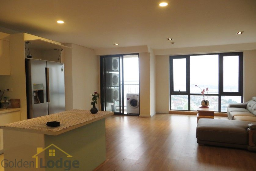 Red river view Mipec Riverside apartment with 3 bedrooms, 125m2 2