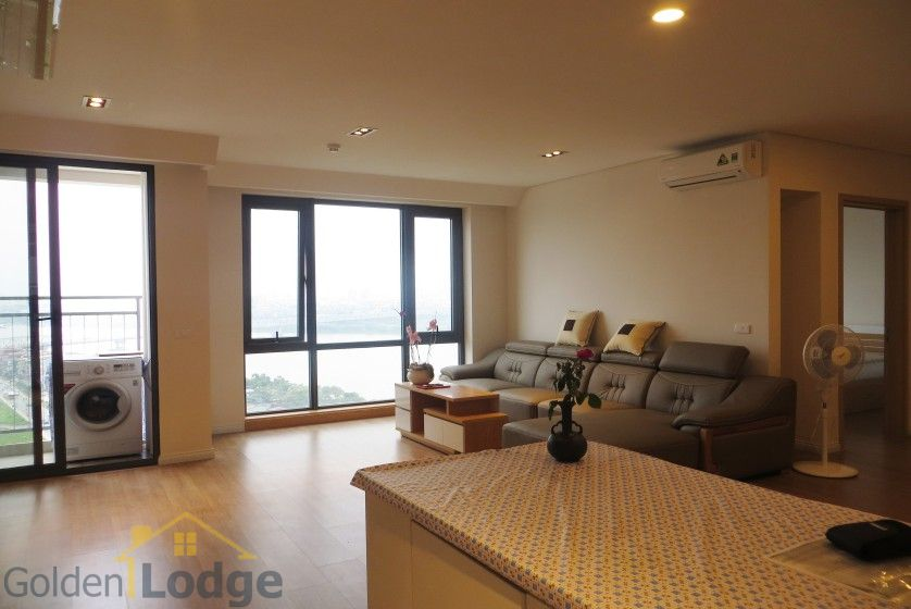 Red river view Mipec Riverside apartment with 3 bedrooms, 125m2 3
