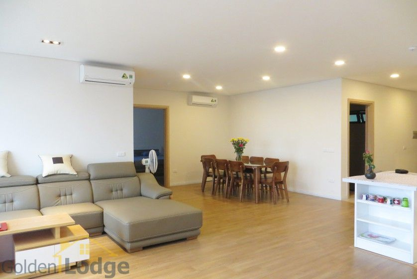 Red river view Mipec Riverside apartment with 3 bedrooms, 125m2 4