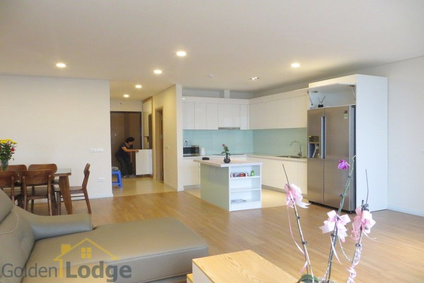 Red river view Mipec Riverside apartment with 3 bedrooms, 125m2 5
