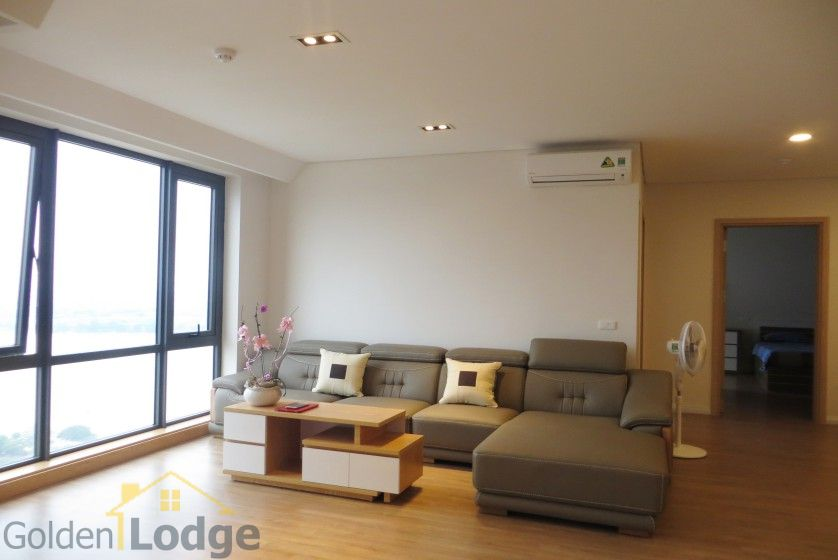 Red river view Mipec Riverside apartment with 3 bedrooms, 125m2 7