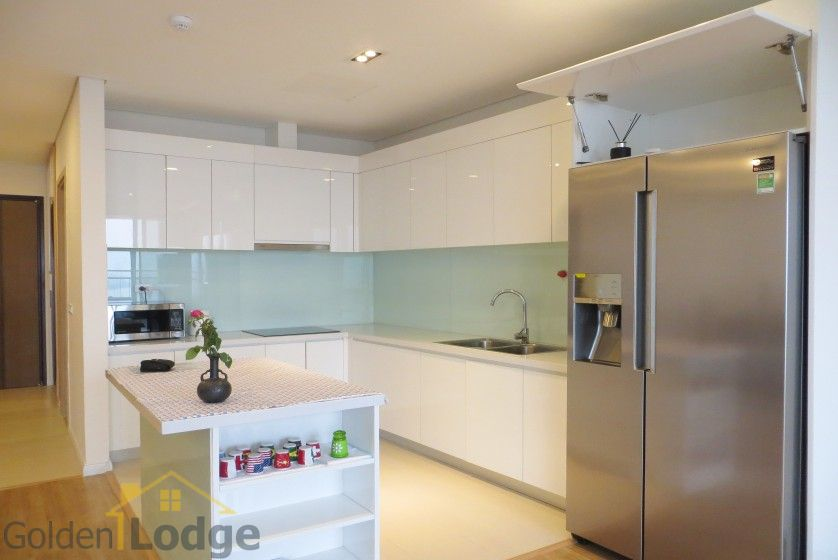 Red river view Mipec Riverside apartment with 3 bedrooms, 125m2 9