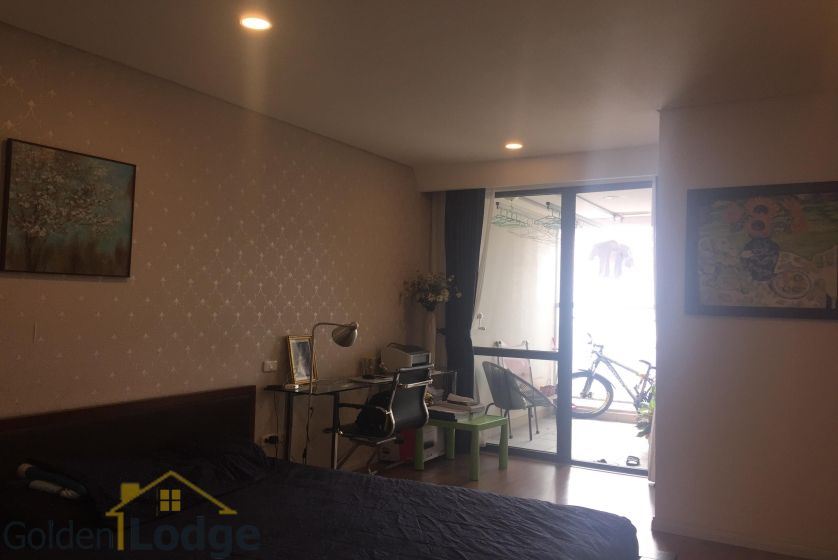 Rent three bedroom apartment in Mipec Riverside furnished 13