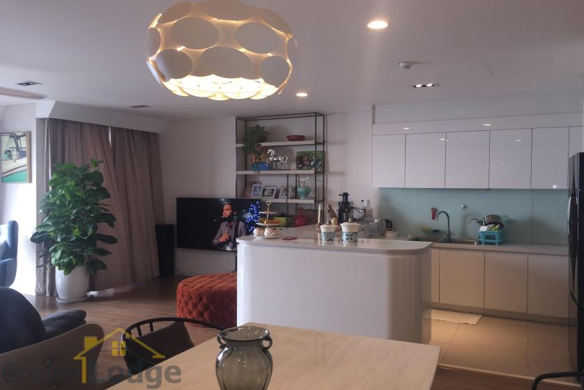 Rent three bedroom apartment in Mipec Riverside furnished 4