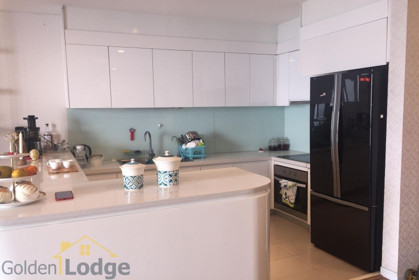 Rent three bedroom apartment in Mipec Riverside furnished 6