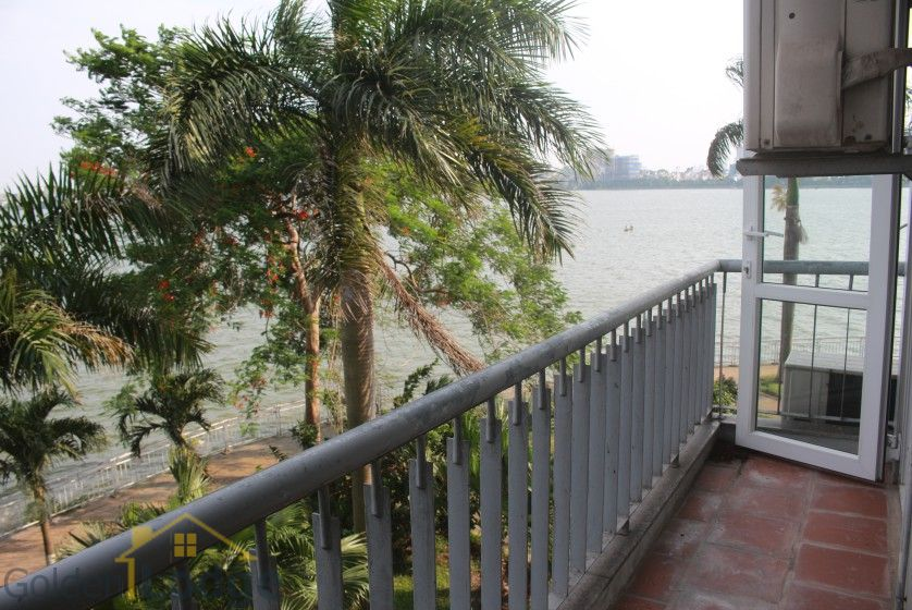 Rooftop terraced house for rent in Tay Ho with lake view 14