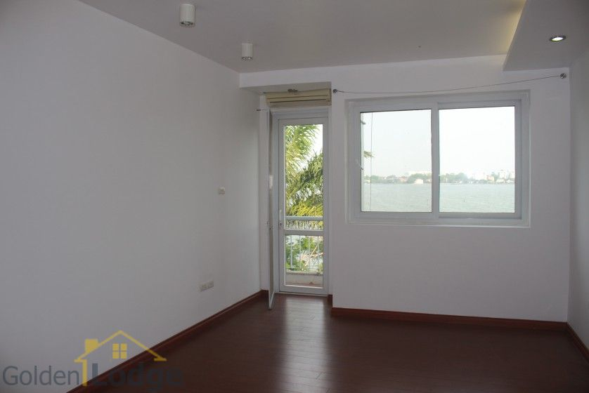 Rooftop terraced house for rent in Tay Ho with lake view 23