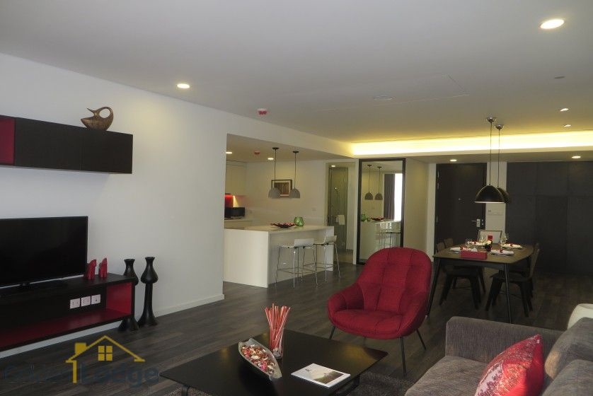Somerset West Point Hanoi 2 bedrooms serviced apartment for rent 16