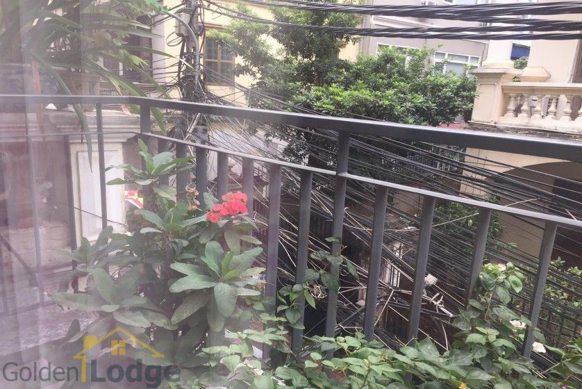 Studio on Dang Thai Mai street for rent Tay Ho balcony 2
