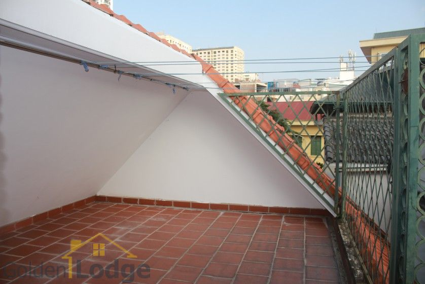 Swimming pool house in To Ngoc Van street, Tay Ho for rent 24