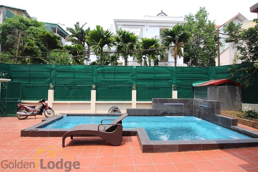 Swimming pool house in To Ngoc Van street, Tay Ho Westlake 2
